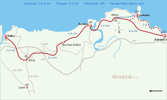 северный путь сантьяго