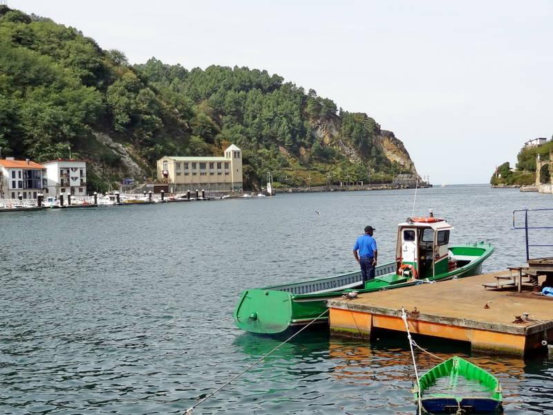 лодка для переправы