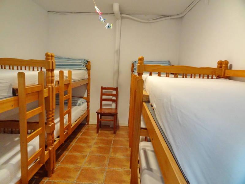 в спальне альберге